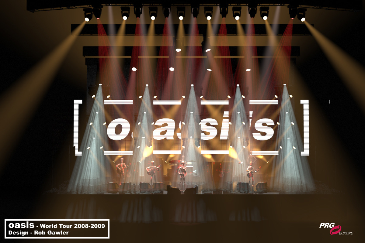 OASIS – Dig Out Your Soul World Tour (2008 – 2009)